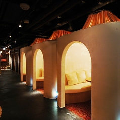 仙台駅前の様々なお部屋が広がる個室空間