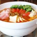 トマト坦々鍋コース2500円【おすすめ】。人気のトマト鍋を今年もやります!!