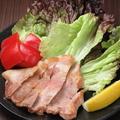 料理メニュー写真国産豚肩ロースグリル