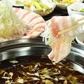 料理メニュー写真鹿児島産 黒豚しゃぶしゃぶ