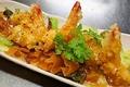 料理メニュー写真アボカドとチーズの海老マヨ