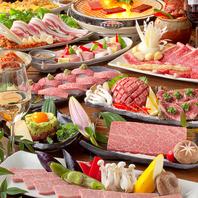 人気の銘柄日本酒【獺祭】飲放付!特選焼肉コース