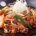 料理メニュー写真ピリ辛豚キムチ