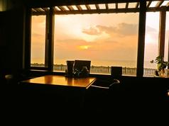 海が見えるそば家の写真
