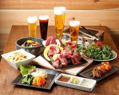 カドウシ 〜熟成焼肉とクラフトビール12TAP〜
