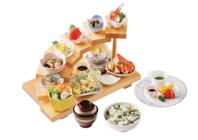 旬の食材をご提供、人気の花暦ランチ