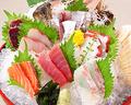 料理メニュー写真漁師自慢の鮮魚7種盛り