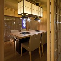 全席完全個室◆夜景を見下ろす特別個室もあり