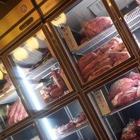 お肉へのこだわりが店内のいたるところに