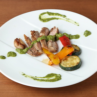 九州の豊かな食材と鮮度を活かしたイタリア料理。