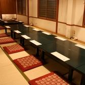 22名までご利用いただける個室など各種人数に合わせてご宴会が出来る。