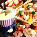 料理メニュー写真スタンダード具沢山チーズフォンデュ