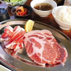 琉球焼肉NAKAMAのおすすめランチ2