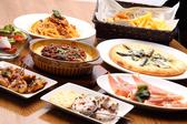 単品のメニューも豊富。お食事だけでのご利用でも十分に満足できる!