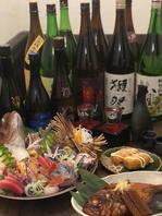 こだわりの和食と日本酒♪