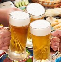 飲み放題は通常,プレミアムの2種類でご用意