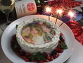 ★写真ケーキ★アナタのお気に入りの写真をケーキに☆誕生日、結婚などのお祝いに◎※3日前要予約※/写真データ&氏名を、当店メールアドレス【ichigo_ichie_siki@yahoo.co.jp】までお願いします
