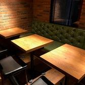 大人な雰囲気の落ち着いたお席。小人数~大人数まで人数に合わせてご案内します♪