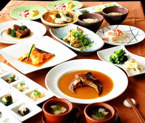 メディア掲載多数・名料理長の腕が織りなす美食中華を上品な空間でお召し上がり下さい