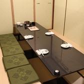 最大4名様までの個室です。