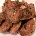 料理メニュー写真豚タングリル