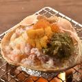 料理メニュー写真<山盛り!>かに味噌甲羅焼き