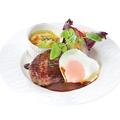 料理メニュー写真ハンバーグステーキ デミグラスソース