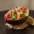 料理メニュー写真海老とアボガドのガーリックグラタン