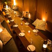 大人数にも対応した席は会合や会社の食事会などイベントにも使用可能です。早めのご予約でお客様のニーズにもお応え致します。落ち着いた空間を是非貴方にも!