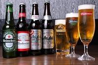 ビールにもこだわり