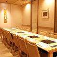 百合1~3 テーブル個室 連結最大18名様迄