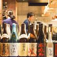 選りすぐりの貴重な日本酒もご用意しております。