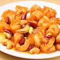 料理メニュー写真エビのナッツ炒め