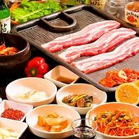 韓国料理&焼肉が100種類以上!豊富なメニューが自慢♪