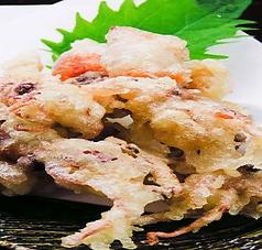 ホタルイカの天ぷら