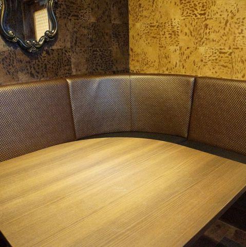 【完全個室】シックな雰囲気の小宴会向けルーム