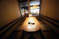 8名様のテーブル個室です。同タイプのお部屋が1部屋ございます。