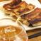10)名物!肉汁たっぷり餃子
