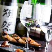 ワイングラスで頂く日本酒は、普段とは違った雰囲気を味わえます♪白ワインのような甘みをお楽しみ下さい☆有名銘柄の日本酒も愉しめる飲み放題プランもございます!当店自慢の日本酒をたっぷりご堪能ください♪