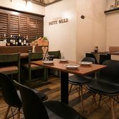 【2名~4名まで座れるテーブル席】おしゃれ女子会や仲の良いご友人の方々と美味しい食事とお酒で素敵なひとときを・・♪