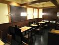 人数に応じて、テーブルのレイアウト変更可能です!ご宴会場所をお探しの際は、お気軽にお問い合わせください♪貸切は20名様~最大54名様まで承ります◎会社のご宴会や、グループの飲み会に最適!西梅田駅徒歩5分とアクセスも良好です。