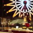 アミュプラザを望む、当店ならではの景色をご堪能下さい。大切な方に特別な瞬間の贈り物をするなら、ぜひお食事と心遣いと景色で魅せる、【KUWAHARAkan】にお任せ下さい。