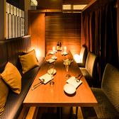 4名様~6名様向け個室風の席で絶品イタリアンメニューとおいしいお酒をおたのしみください◎※写真はイメージです。※ご予約の状況によっては、写真のような席でのご案内ができない場合がございますので、予めご了承下さい。