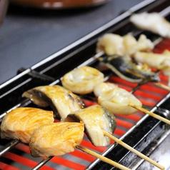 魚串(うおくし)おまかせ盛り5本