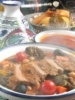 日本にいながらチュニジアの本場のお料理を!