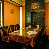 3階にある中国風の個室☆壁には龍の飾りや中国伝統の瓦などもあり、中国風情が満喫できるフロアになっております♪5階のフロアを全て貸切で60名様までOK!