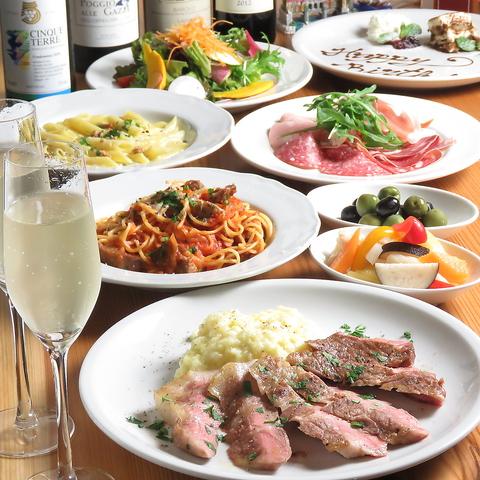 『泉岳寺駅』から徒歩1分◎こだわりのイタリアンと厳選した旬のワインをご提供♪
