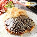 料理メニュー写真お好み焼き (豚玉)