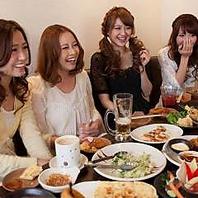 平日がお得!!食べ飲み放題が3,240円~