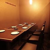 8名席はコンパや会社帰りの飲み会におすすめ!